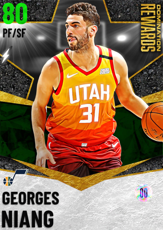 80 Georges Niang   Domination Rewards