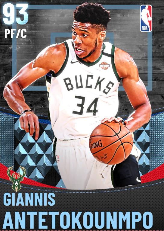 93 Giannis Antetokounmpo | Milwaukee Bucks