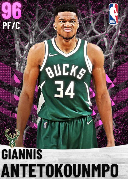 96 Giannis Antetokounmpo   Milwaukee Bucks