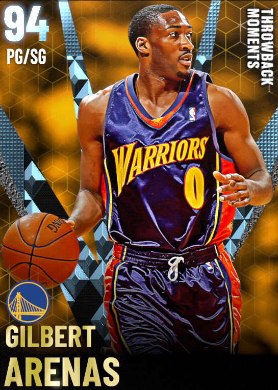 94 Gilbert Arenas   Throwback Moments Pacific