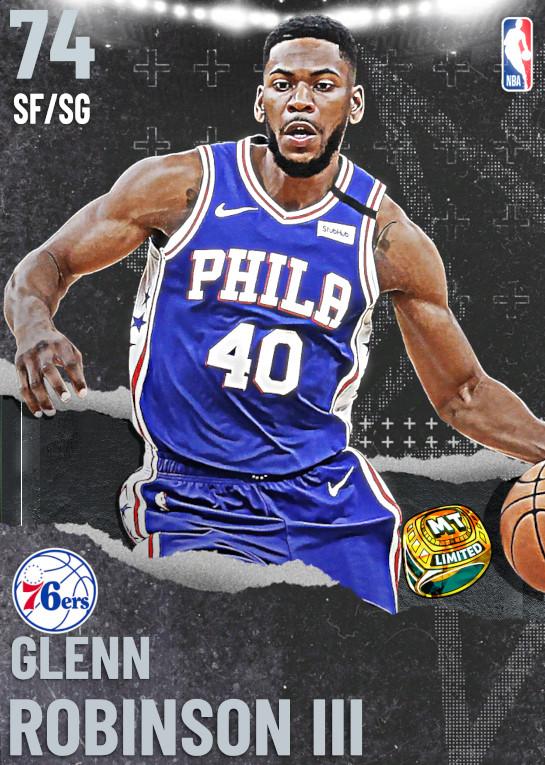 74 Glenn Robinson III   Philadelphia 76ers