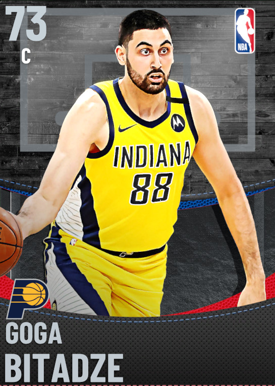 73 Goga Bitadze | Indiana Pacers