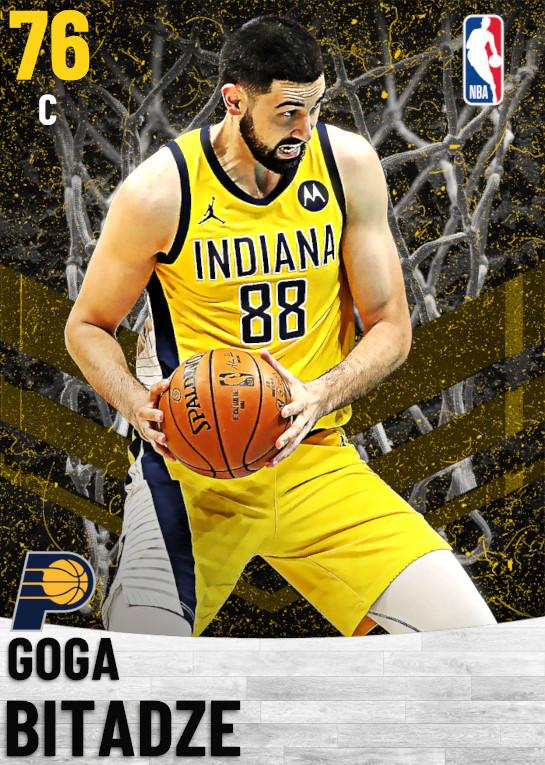 76 Goga Bitadze   Indiana Pacers