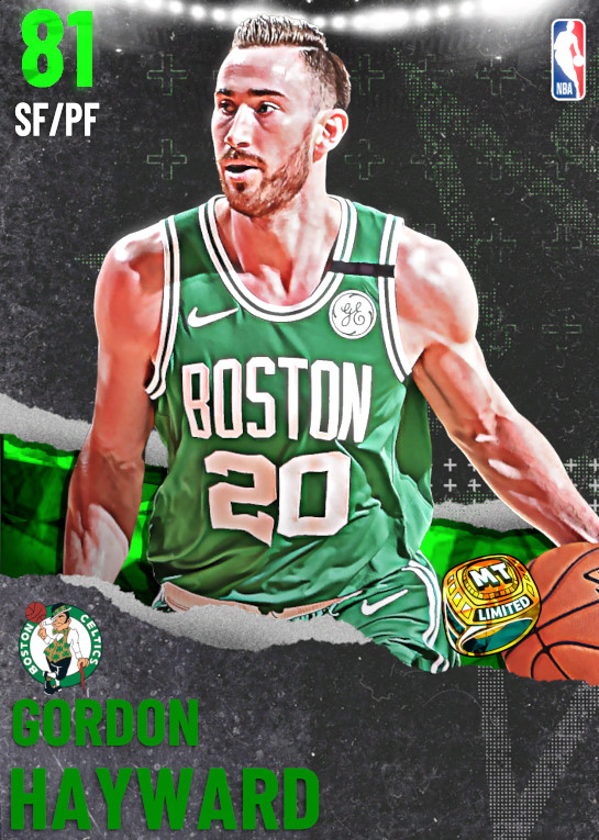81 Gordon Hayward | undefined