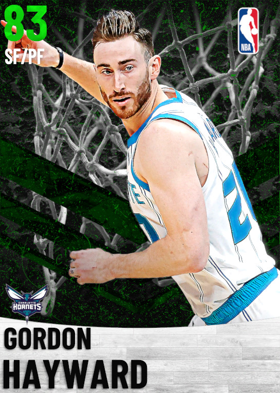 83 Gordon Hayward   Charlotte Hornets