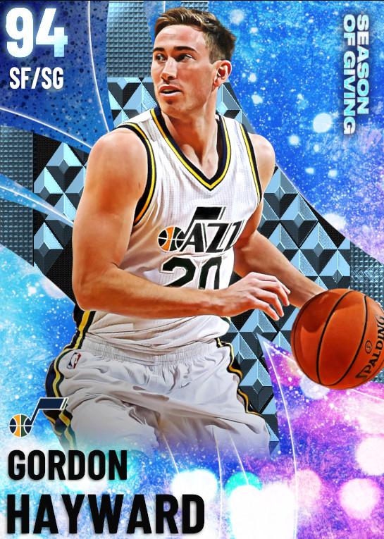 94 Gordon Hayward | undefined