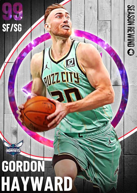 99 Gordon Hayward   undefined