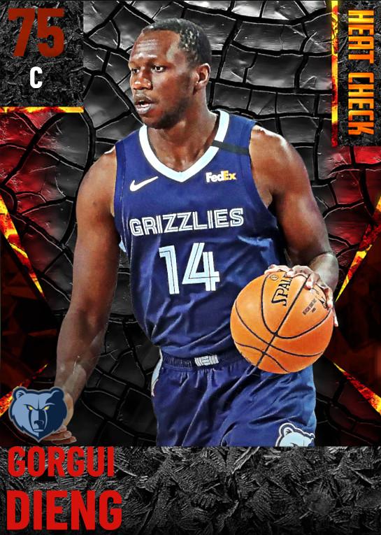 75 Gorgui Dieng | Memphis Grizzlies