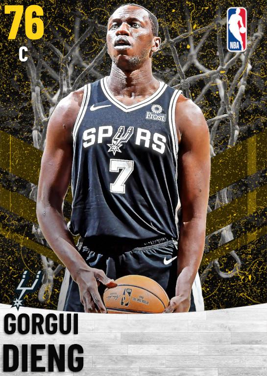76 Gorgui Dieng   San Antonio Spurs
