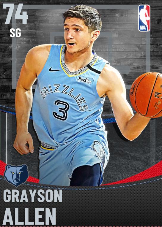 74 Grayson Allen | Memphis Grizzlies