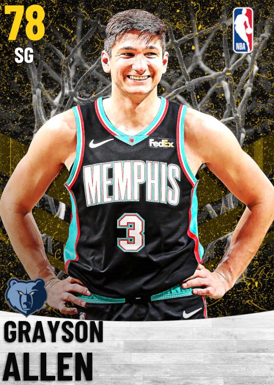 78 Grayson Allen   Memphis Grizzlies