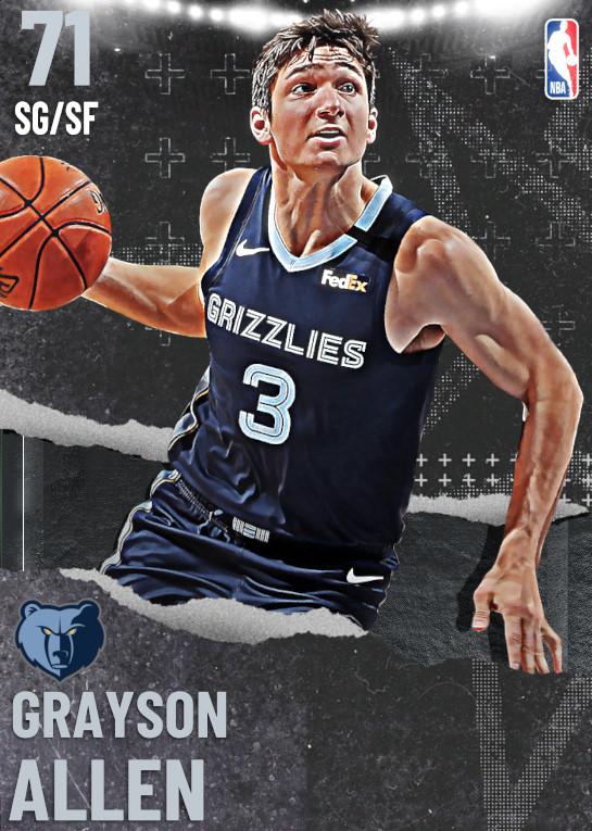71 Grayson Allen   undefined