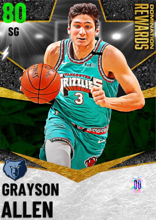 80 Grayson Allen   Domination Rewards