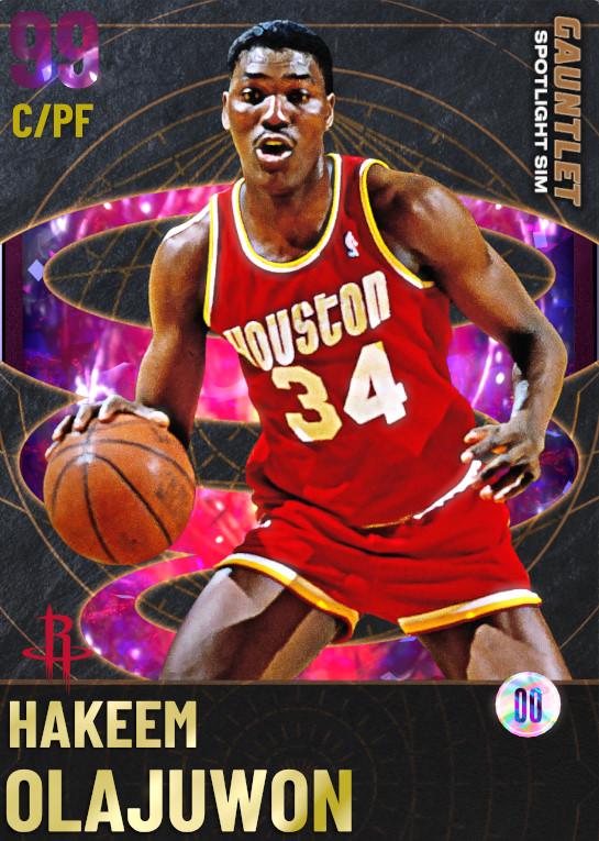 99_Hakeem Olajuwon_The Gauntlet Spotlight Sim