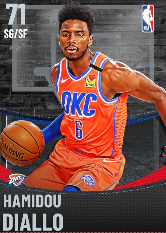 71 Hamidou Diallo | undefined