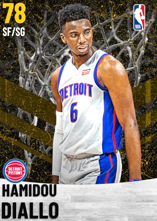 78 Hamidou Diallo   Detroit Pistons