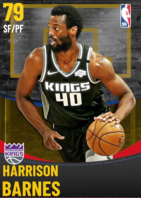 79 Harrison Barnes | Sacramento Kings