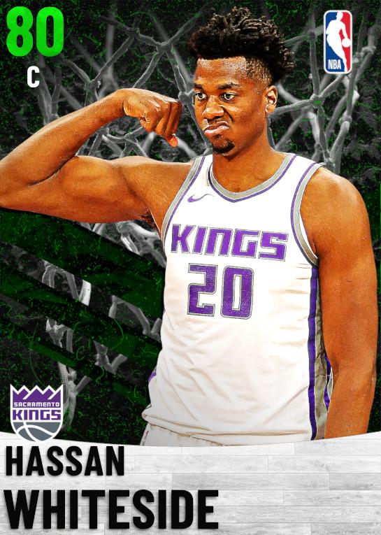 80 Hassan Whiteside   Sacramento Kings