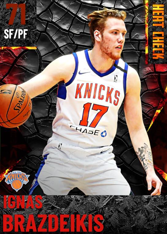 71 Ignas Brazdeikis | New York Knicks