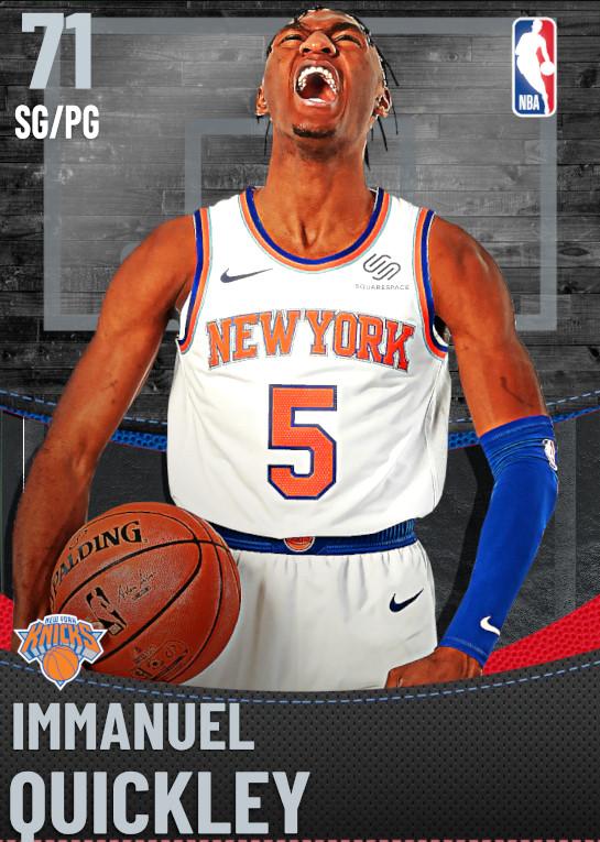 71 Immanuel Quickley | New York Knicks