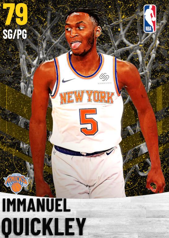 79 Immanuel Quickley   New York Knicks