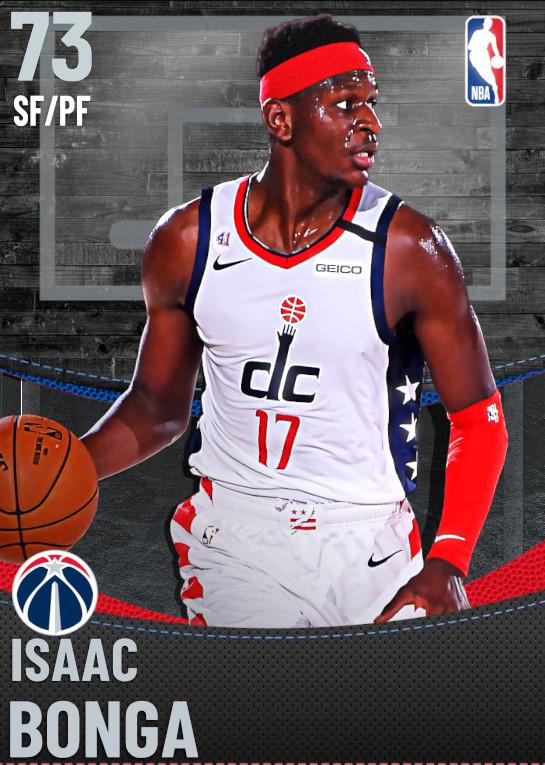 73 Isaac Bonga | Washington Wizards