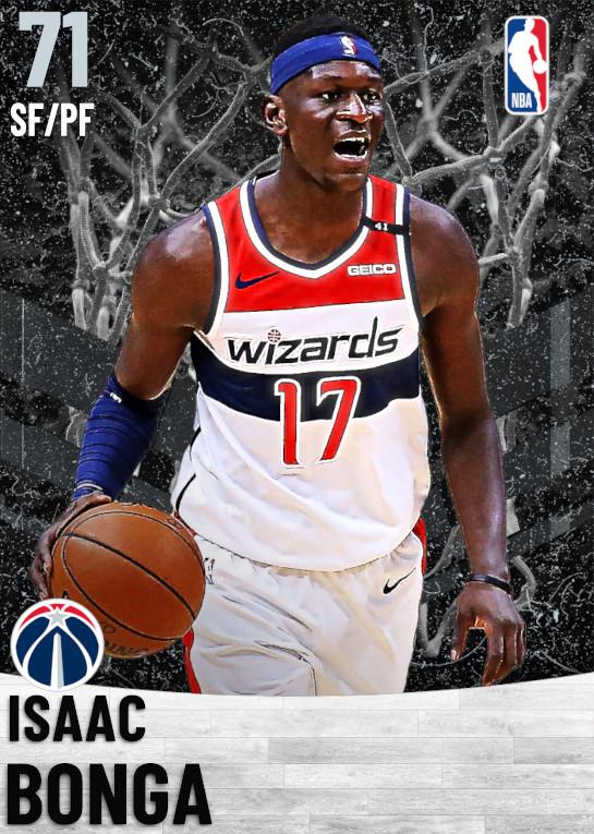 71 Isaac Bonga   Washington Wizards