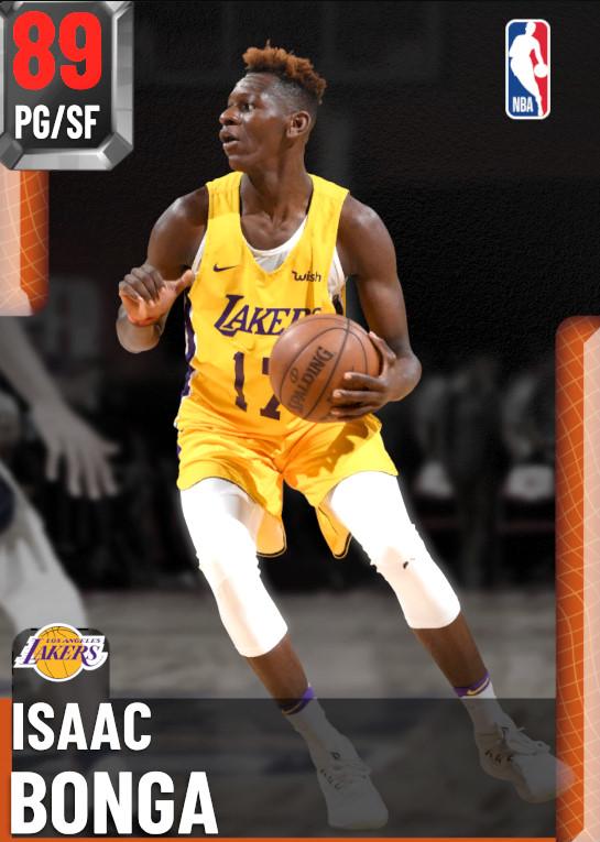 89 Isaac Bonga | undefined