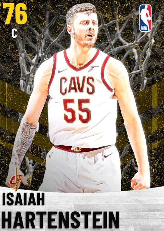 76 Isaiah Hartenstein   Cleveland Cavaliers