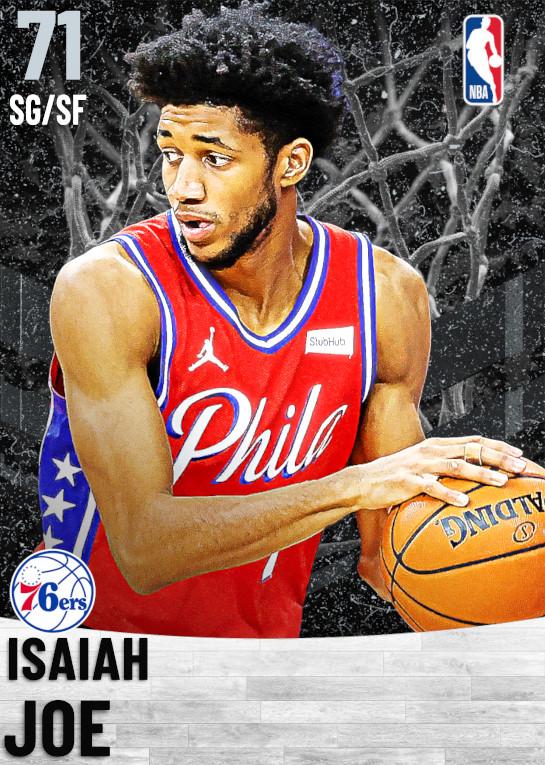 71 Isaiah Joe   Philadelphia 76ers