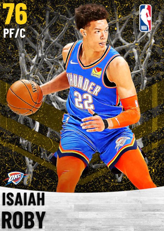 76 Isaiah Roby   Oklahoma City Thunder