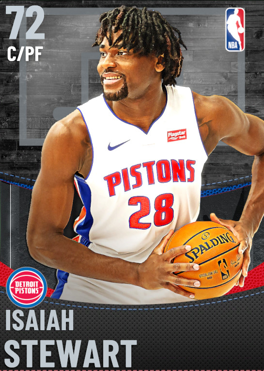 72 Isaiah Stewart | Detroit Pistons