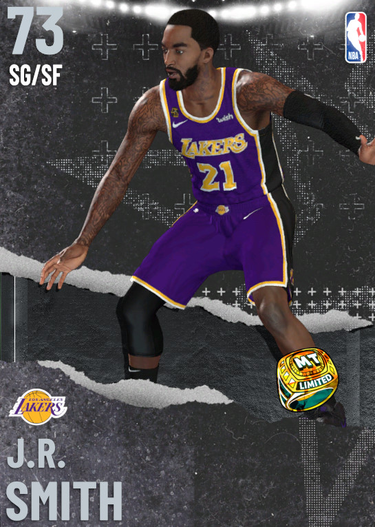 73 J.R. Smith   Los Angeles Lakers