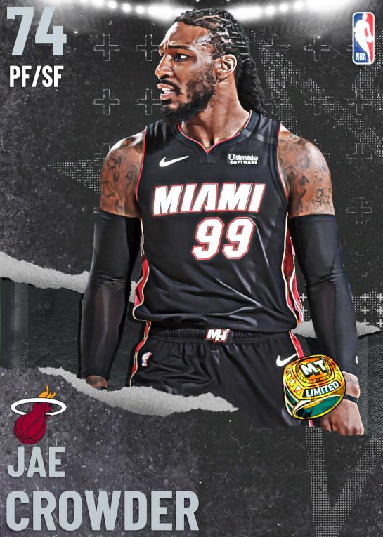 74 Jae Crowder   Miami Heat