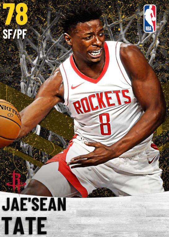 78 Jae'Sean Tate   Houston Rockets
