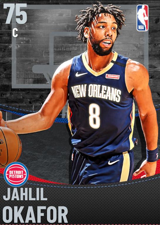 75 Jahlil Okafor | Detroit Pistons