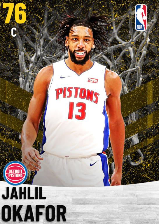 76 Jahlil Okafor   Detroit Pistons