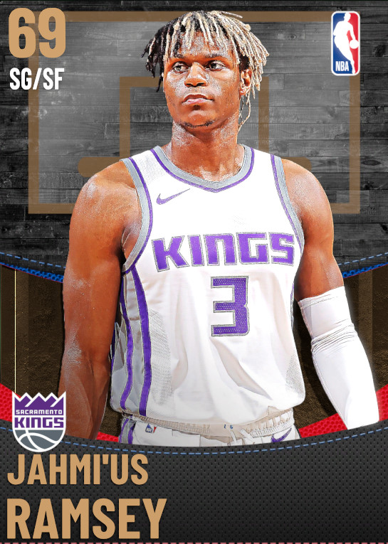 69 Jahmi'us Ramsey | Sacramento Kings