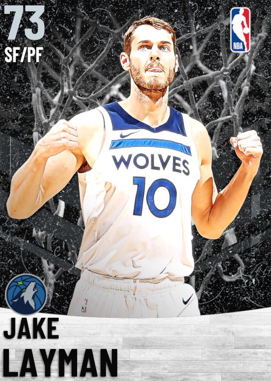 73 Jake Layman   Minnesota Timberwolves
