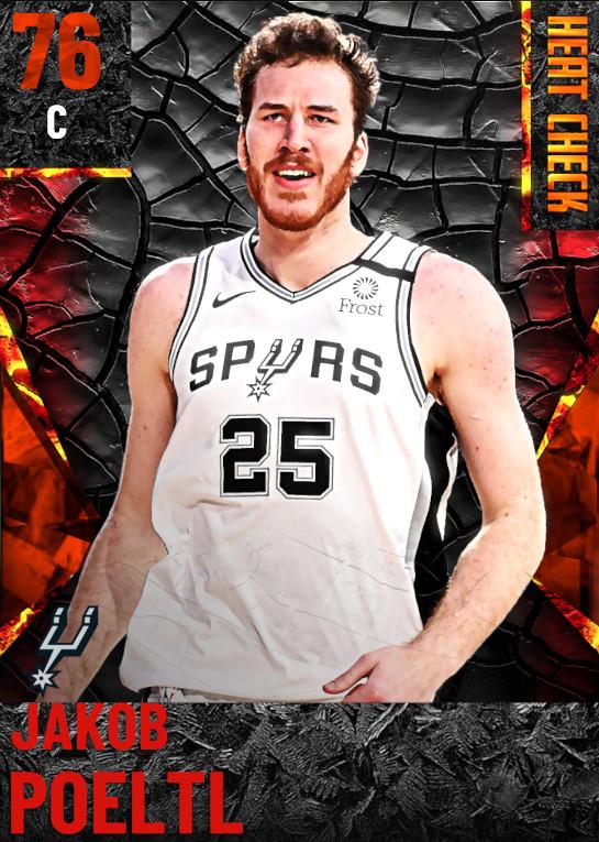 76 Jakob Poeltl | San Antonio Spurs