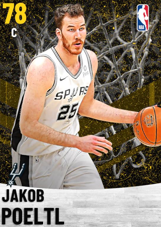 78 Jakob Poeltl   San Antonio Spurs