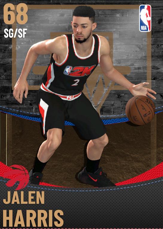 68 Jalen Harris | Toronto Raptors