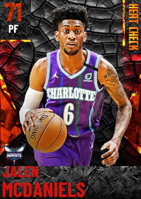 71 Jalen McDaniels | Charlotte Hornets