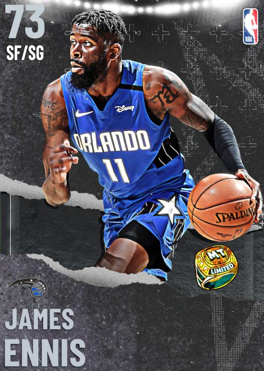 73 James Ennis | undefined