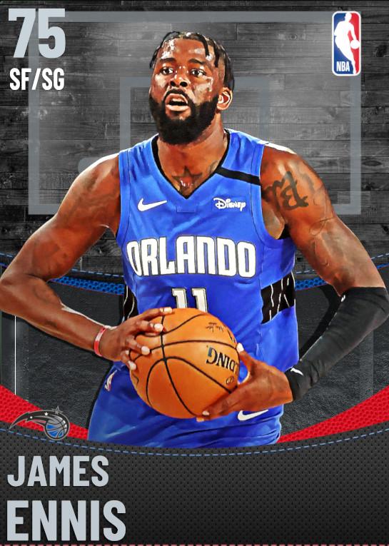 75 James Ennis | Orlando Magic