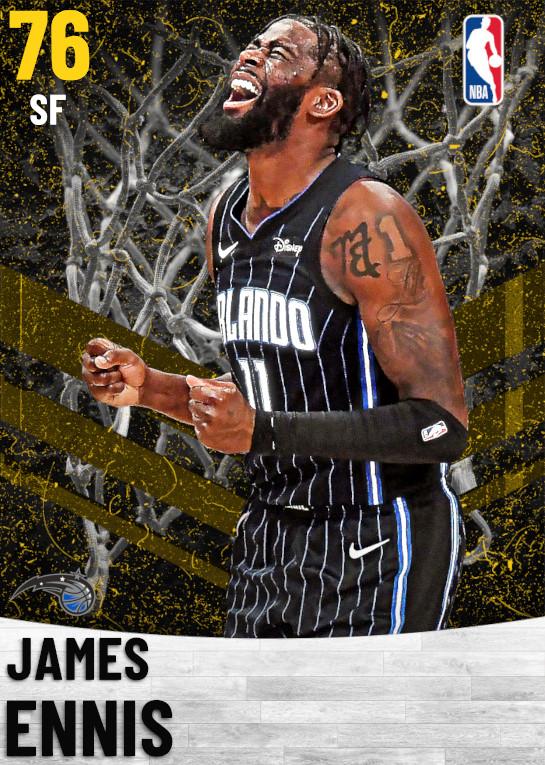76 James Ennis   Orlando Magic
