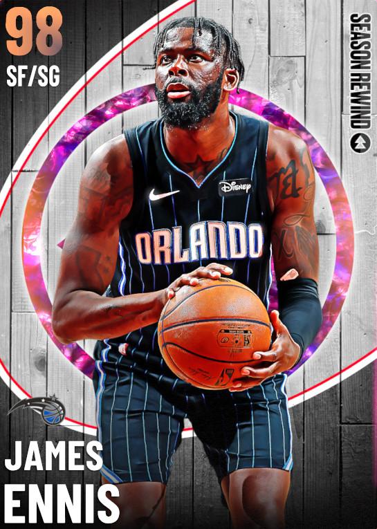 98 James Ennis   undefined