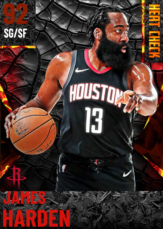 92 James Harden | Houston Rockets
