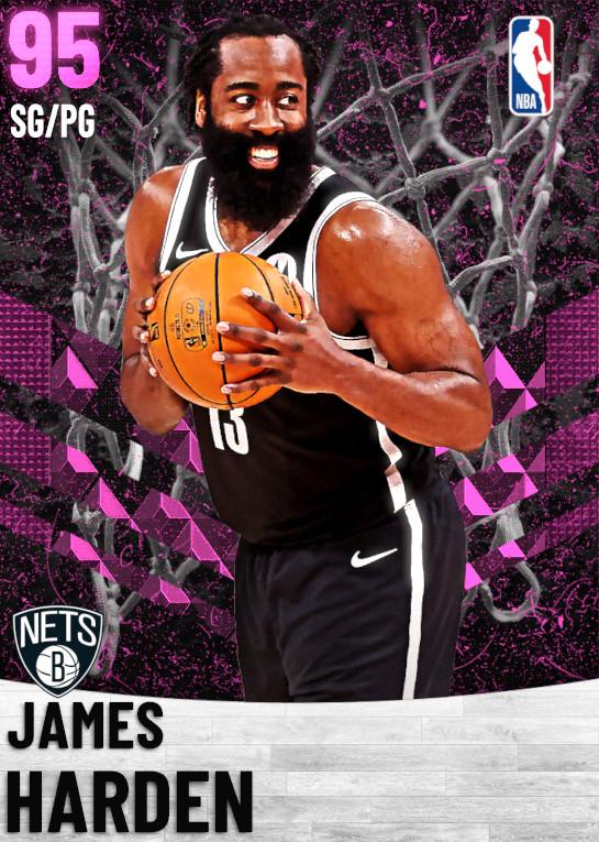 95 James Harden   Brooklyn Nets