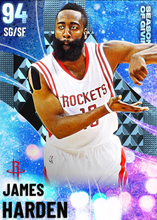 94 James Harden | Season Of Giving